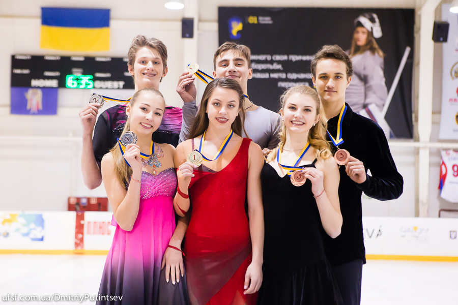 Ukrainian Junior Figure Skating Championship, Kyiv, 27.01-02.03.2017