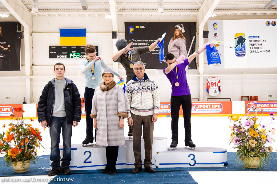 CHAMPIONSHIP OF UKRAINE AMONG THE JUNIORS. Kyiv, 24 - 26 January, 2018. Day 3